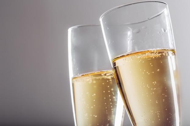 Festa di capodanno con champagne Foto Premium