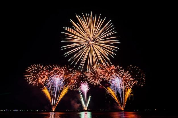 Festival dei fuochi d'artificio in tailandia Foto Gratuite