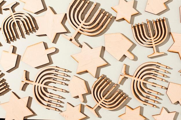 Festosa collezione concept ebraica Foto Gratuite
