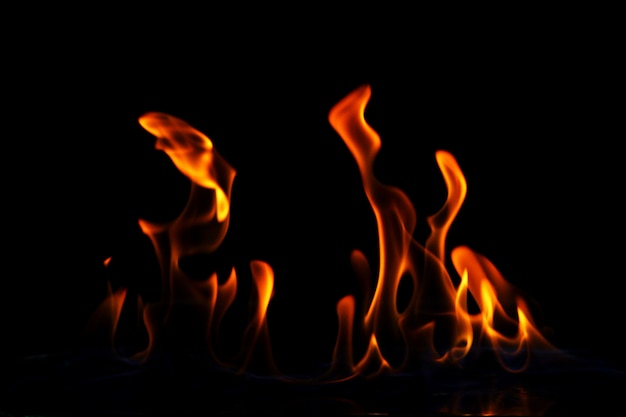 Fiamma di fuoco incandescente Foto Gratuite