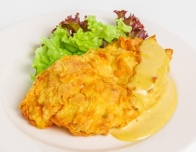 Filetto di pollo con formaggio Foto Gratuite