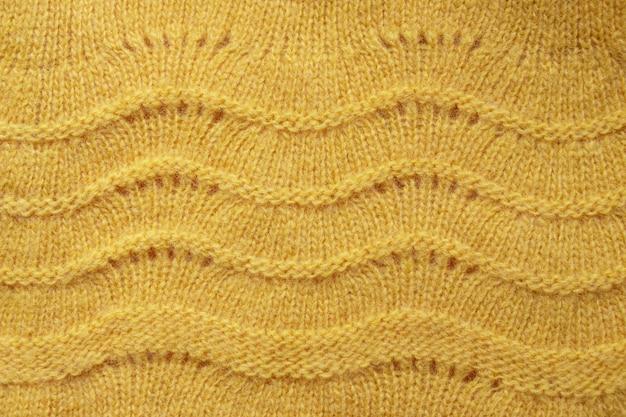 Fine di struttura del maglione delle lane in su Foto Premium