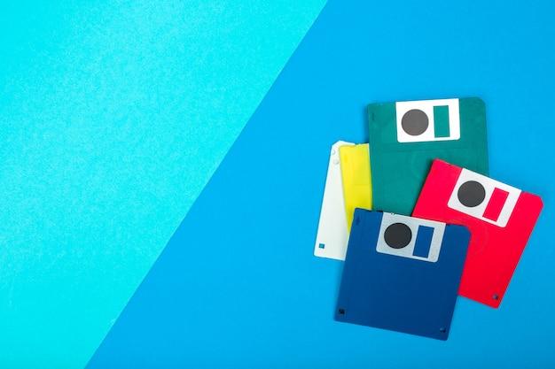 Floppy disk del computer Foto Premium