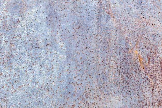 Fondo arrugginito consumato scuro di struttura del metallo, effetto d'annata, Foto Premium