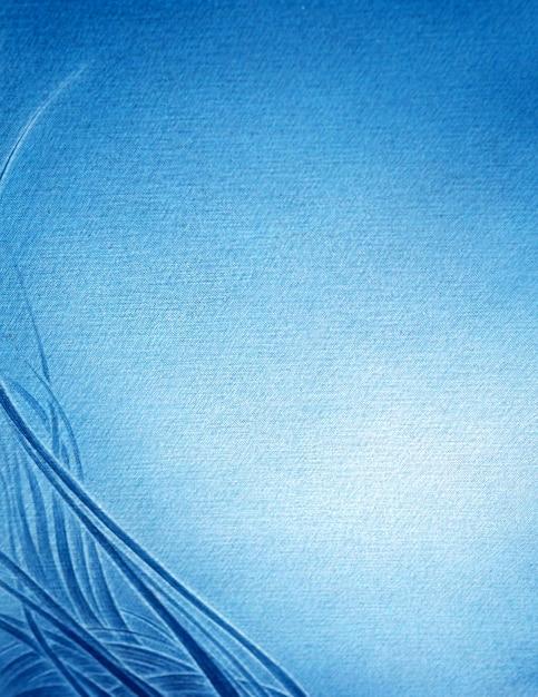Fondo astratto blu decorativo di pendenza di colore della parete scura con la linea blu Foto Premium