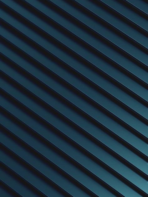 Fondo astratto del modello del metallo blu Foto Premium
