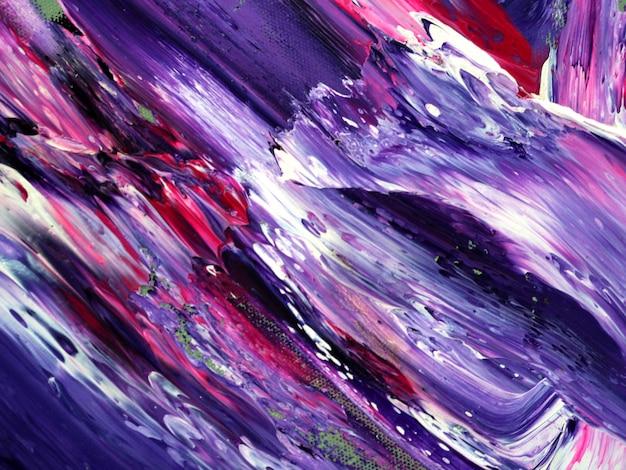 Fondo astratto dell'estratto della pittura ad olio di colore Foto Premium