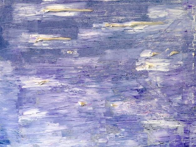 Fondo astratto dell'estratto della pittura ad olio dolce di colori variopinti Foto Premium