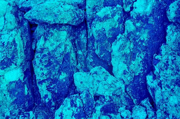 Fondo blu di pietra dell'acquamarina e struttura, modello naturale colorato Foto Premium