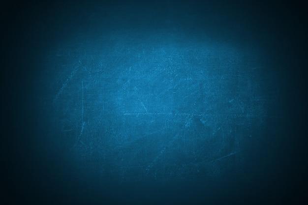 Fondo blu scuro del contesto della lavagna di struttura di lerciume Foto Premium