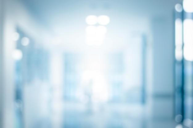 Fondo del corridoio vago estratto dal corridoio di costruzione per il fondo della costruzione del corridoio Foto Premium