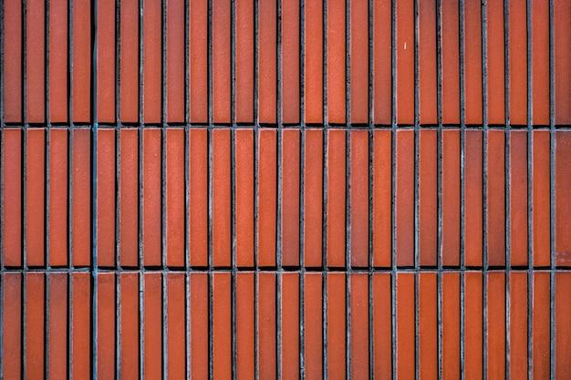 Fondo del mattone di struttura delle mattonelle della parete Foto Premium