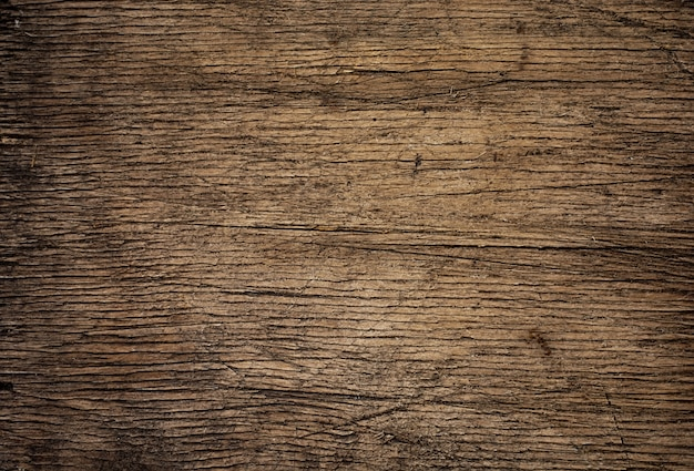 Fondo di legno antiquato di struttura di putrescency nello stile d'annata Foto Premium