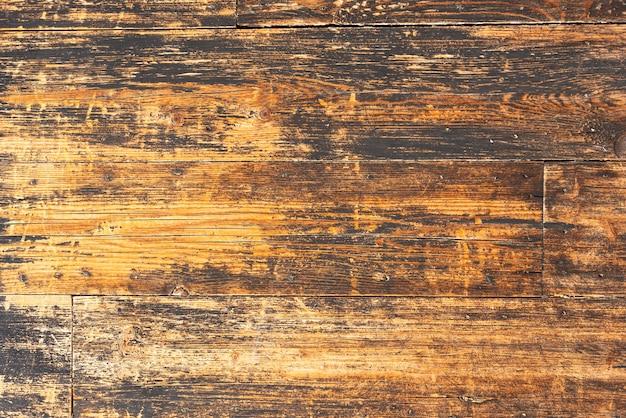 Fondo di legno invecchiato della parete delle plance Foto Gratuite