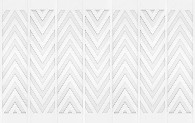 Fondo di progettazione di muro modello moderno triangolo grigio a zig zag. Foto Premium