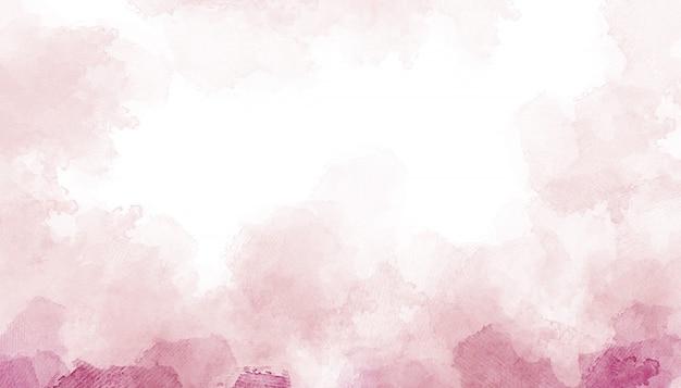 Fondo di struttura della carta dipinto acquerello rosa. Foto Premium
