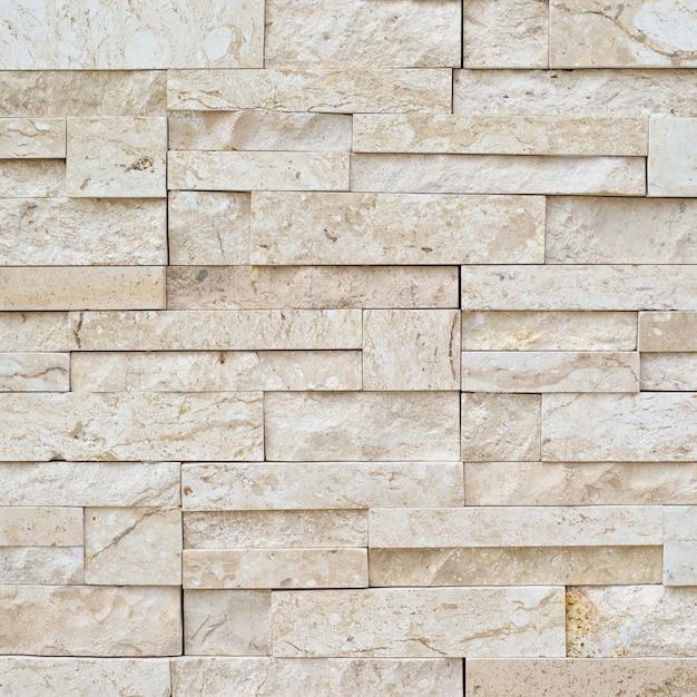 Fondo di struttura della decorazione del muro di mattoni Foto Premium