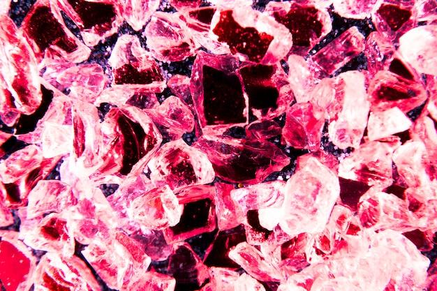 Fondo di struttura di scintillio con i cristalli Foto Gratuite