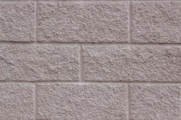 Fondo in calcestruzzo con motivo a muratura a imitazione rettangolare Foto Premium