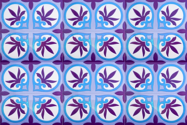Fondo marocchino del modello delle mattonelle decorazione variopinta