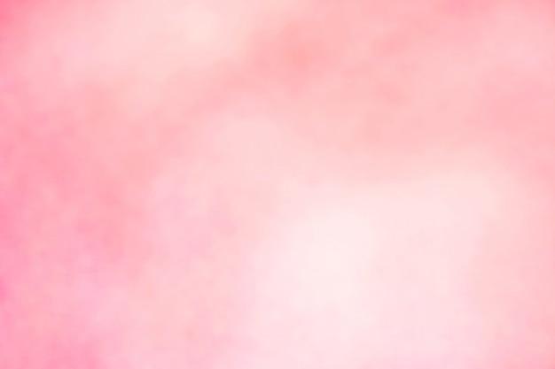 Fondo morbido molle rosa della carta da parati di colore pastello di pendenza della sfuocatura leggera. Foto Premium