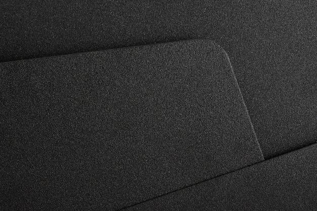 Fondo o struttura nero del metallo Foto Premium