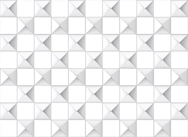 Fondo senza cuciture moderno della parete delle piastrelle di ceramica del modello di griglia quadrato. Foto Premium