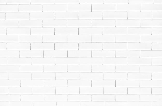 Fondo strutturato del muro di mattoni bianco Foto Gratuite