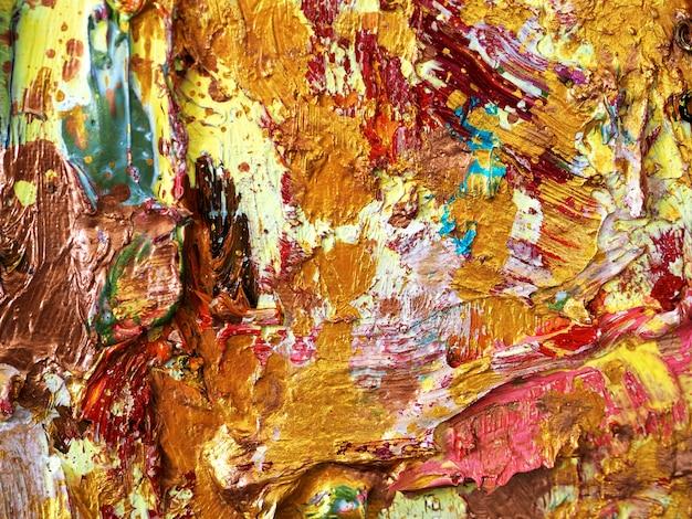 Fondo variopinto dell'estratto di struttura di colore dell'oro. Foto Premium
