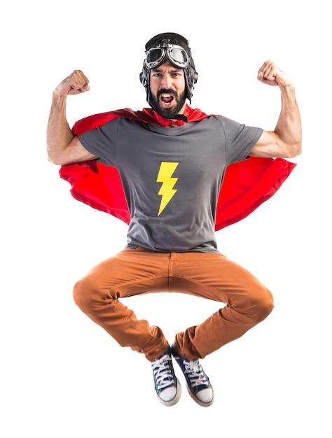 Forte supereroe Foto Gratuite
