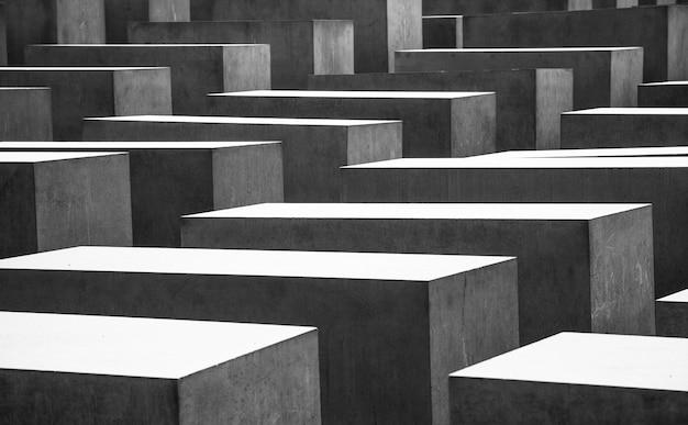 Foto modellata delle tombe commemorative di guerra mondiale a berlino Foto Gratuite