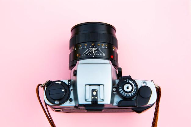 Fotocamera reflex analogica Foto Premium