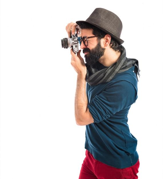 Fotografare l'uomo Foto Gratuite
