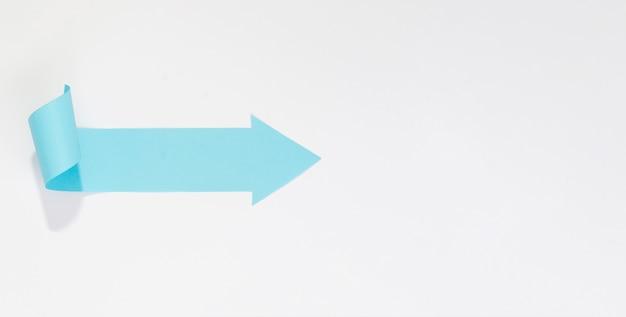 Freccia blu che punta a destra Foto Gratuite