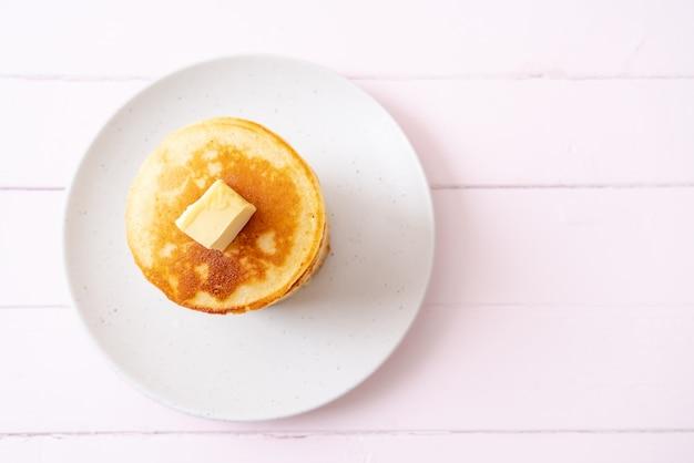 Frittelle con burro e miele Foto Premium