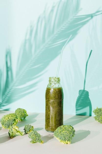 Frullati di verdure e broccoli Foto Gratuite