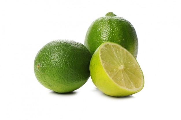 Frutta fresca della calce isolata Foto Gratuite