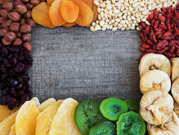 Frutta secca mista Foto Premium