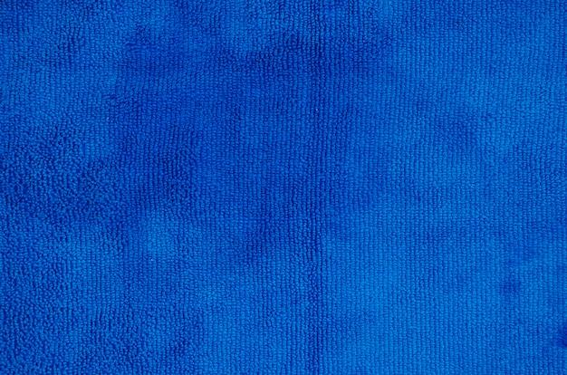 Full frame di sfondo blu morbido tovagliolo Foto Gratuite
