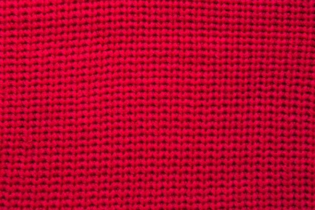 Full frame shot di felpa rossa Foto Gratuite
