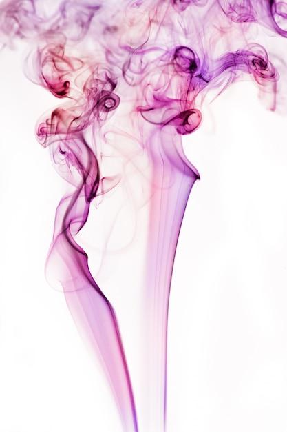 Fumo blu e bianco Foto Premium