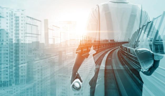 Futuro progetto di ingegneria edile. Foto Premium