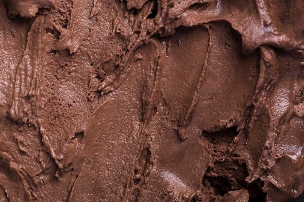 Gelato close-up con aroma di cioccolato Foto Gratuite