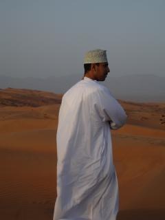Genti del deserto dell'oman, arabo Foto Gratuite