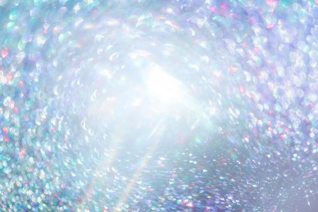 Glitter oro bokeh colorfull sfocato sfondo astratto per anniversario Foto Premium