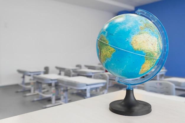 Globo geografico di primo piano Foto Gratuite