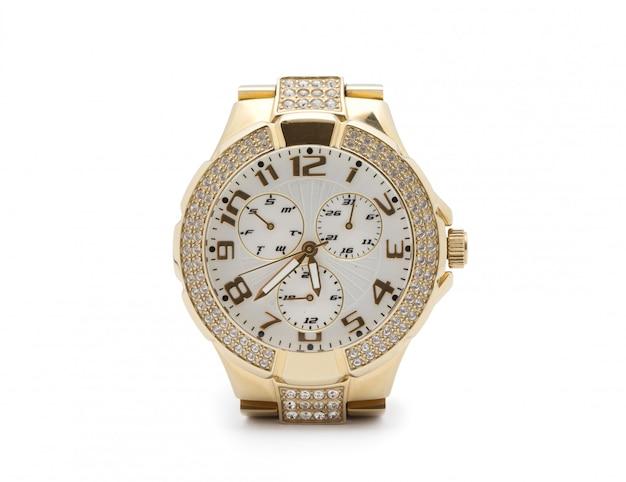 Golden watch Foto Premium