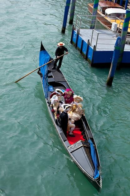 Gondola a venezia Foto Premium