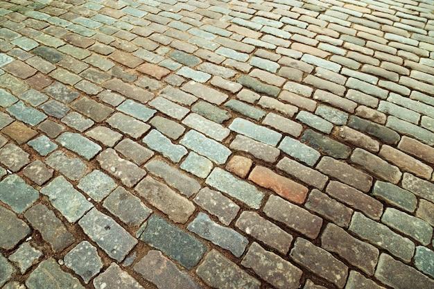 Grandi pietre sul terreno da vicino Foto Premium