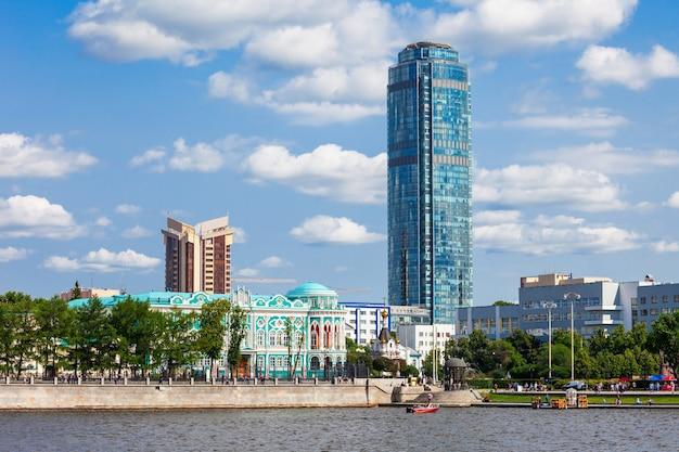 Grattacielo vysotsky a ekaterinburg Foto Premium